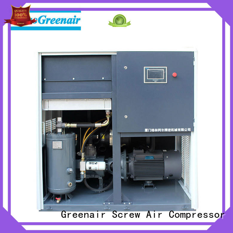 two stage vsd compressor atlas copco with an asynchronous motor for tropical area