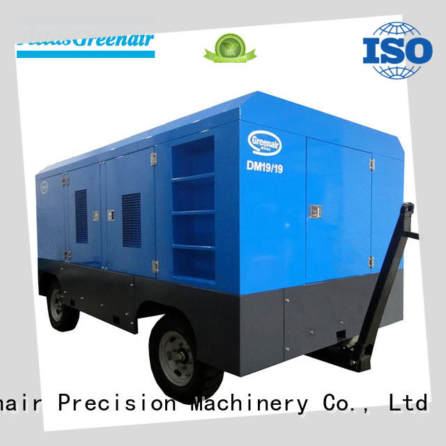 diesel screw compressor professional for tropical area Atlas Greenair Screw Air Compressor