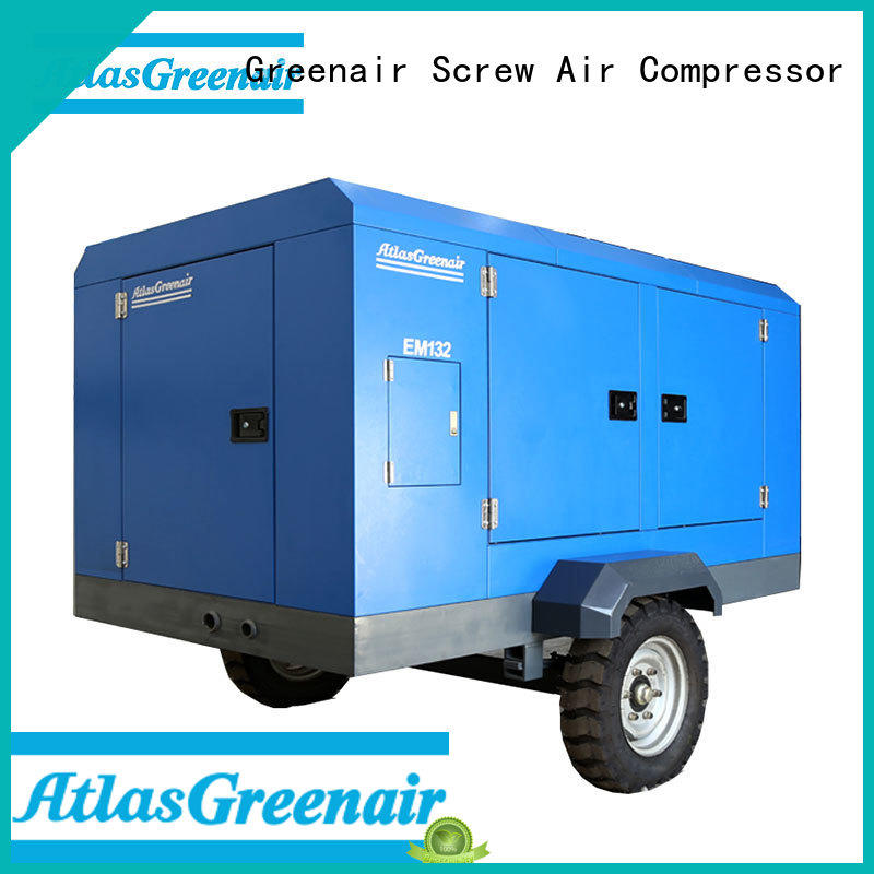 Atlas Greenair Screw Air Compressor superior quality electric air compressor manufacturers with intelligent control system for tropical area