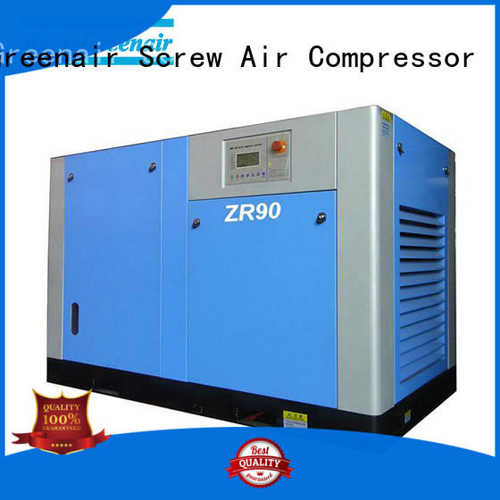 Atlas Greenair Screw Air Compressor oil free rotary screw air compressor with no lubrication oil for sale