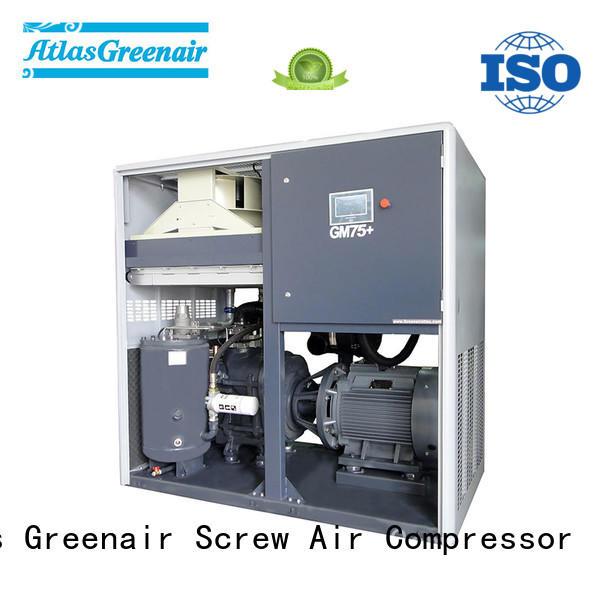 Atlas Greenair Screw Air Compressor two stage vsd compressor atlas copco with a single air compressor customization