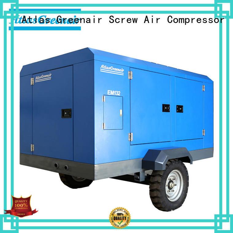 Atlas Greenair Screw Air Compressor professional portable screw compressor supplier wholesale
