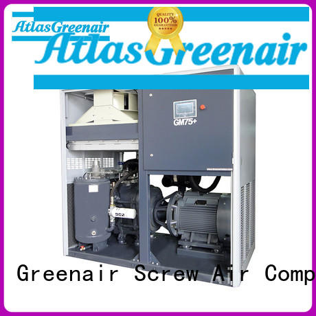 Atlas Greenair Screw Air Compressor variable speed air compressor factory for sale