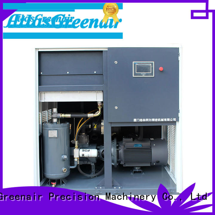 vsd variable speed air compressor pm customization Atlas Greenair Screw Air Compressor