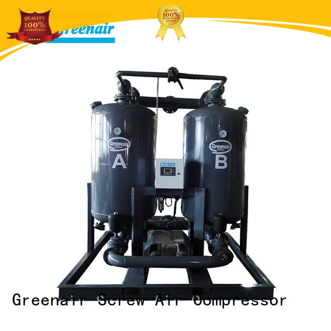 Atlas Greenair Screw Air Compressor best heatless desiccant compressed air dryer for a high precision operation