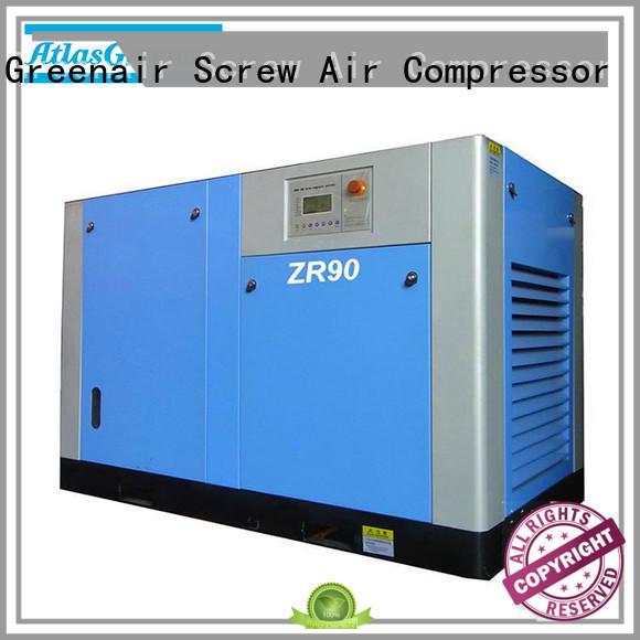 Atlas Greenair Screw Air Compressor popular oil free rotary screw air compressor supplier customization