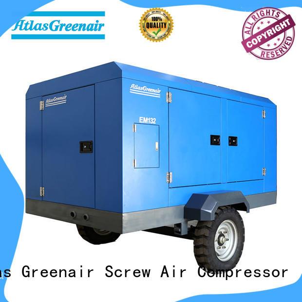 Atlas Greenair Screw Air Compressor electric rotary screw air compressor supplier for tropical area