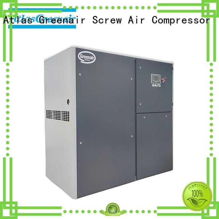 Atlas Greenair Screw Air Compressor new atlas copco screw compressor manufacturer for tropical area