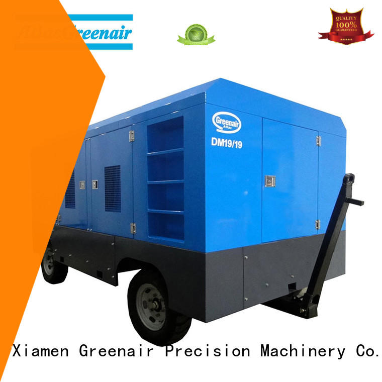 Atlas Greenair Screw Air Compressor wholesale mobile air compressor supplier design