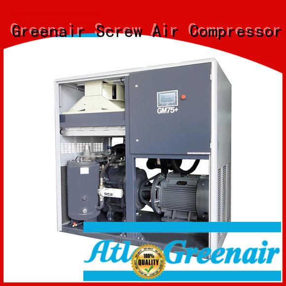 Atlas Greenair Screw Air Compressor vsd compressor atlas copco factory for tropical area