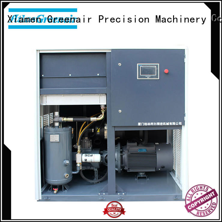 Atlas Greenair Screw Air Compressor cheap air compressors variable speed customization